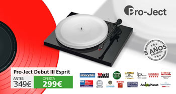Pro-ject Debut III Esprit DC Inspiration