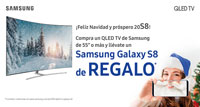 SAMSUNG QLED TV: Regalo de Galaxy S8