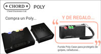 CHORD ELECTRONICS POLY: regalo funda