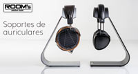 ROOMS AUDIO LINE: Soportes de auriculares