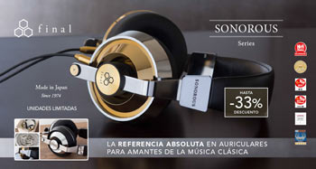 FINAL SONOROUS SERIES: La referencia absoluta en auriculares