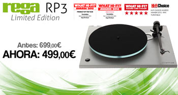 REGA RP3 LIMITED EDITION