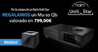 NAIM UNITI STAR: regalo Mu-so Qb valorado en 799€