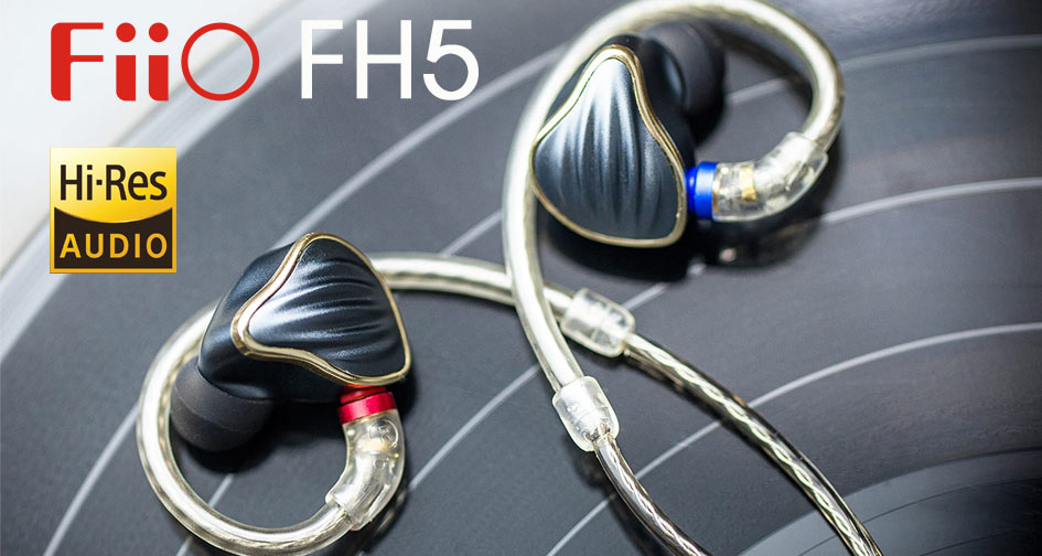 FIIO FH5: Auriculares in-ear con 4 drivers