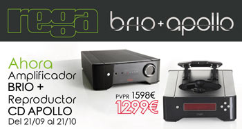 REGA BRIO y APOLLO: super oferta