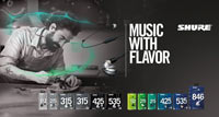 SHURE: Music with flavor