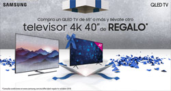 SUPER OFERTA televisor QLED TV Samsung (gama 2018) +TV DE REGALO