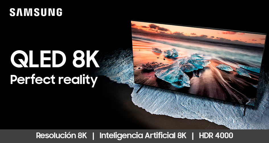 SAMSUNG QLED 8K: perfect reality