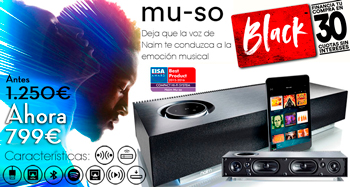 NAIM MU-SO: oferta Black Friday