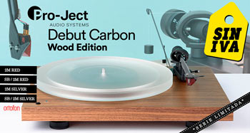 PRO-JECT DEBUT CARBON WOOD EDITION: Oferta Días Sin IVA