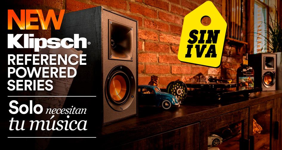 KLIPSCH REFERENCE POWERED SERIES: oferta Días Sin IVA
