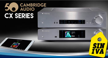 CAMBRIDGE AUDIO CX SERIES: Oferta Días Sin IVA