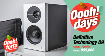 DEFINITIVE TECHNOLOGY D9: Oferta Oooh! Days
