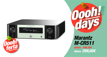 MARANTZ M-CR511: Oferta Oooh! Days