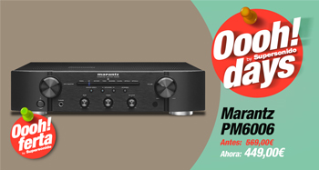 MARANTZ PM6006: : Oferta Oooh! Days
