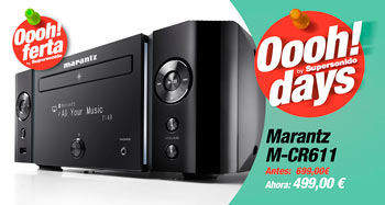 MARANTZ M-CR611: oferta Oooh! Days