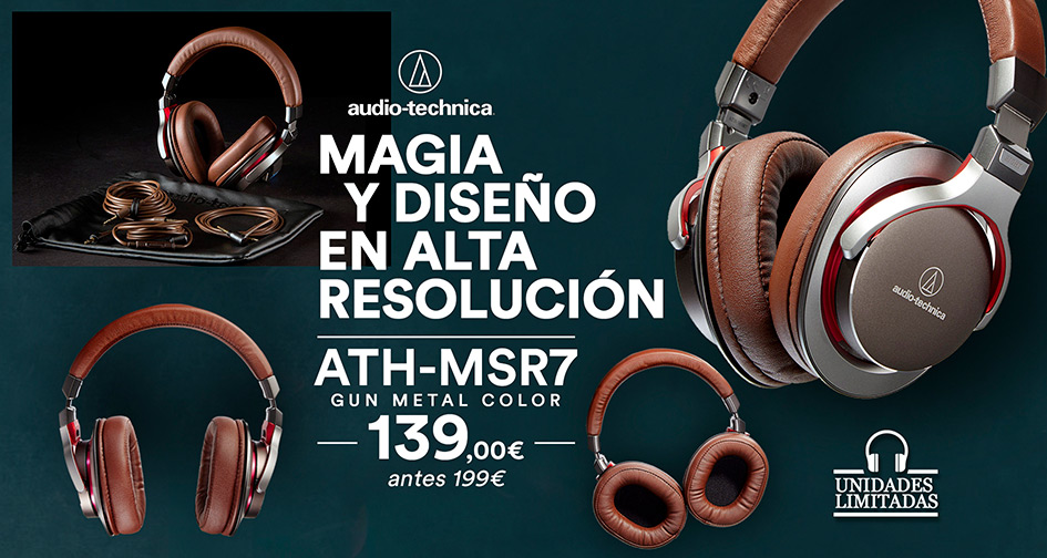 AUDIO-TECHNICA ATH-MS7: oferta Oooh Days!