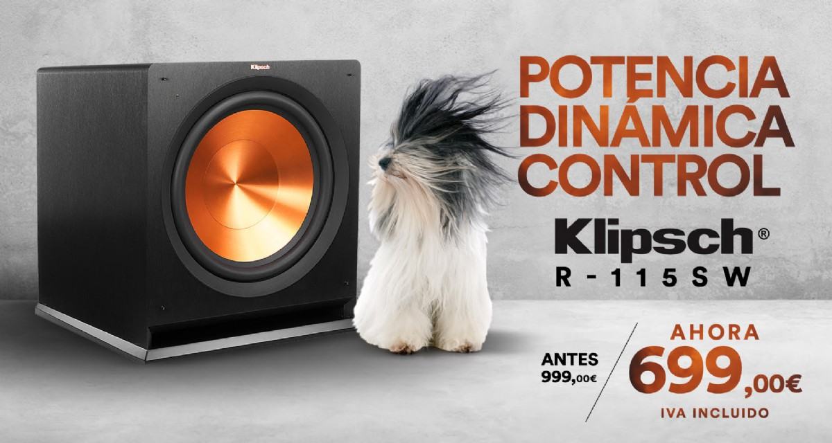 Klipsch subwoofers serie Reference Premiere