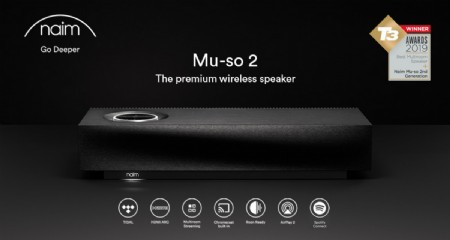 NAIM MU-SO2: the premium wireless speaker
