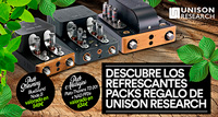 UNISON RESEARCH: ESCOGE UN PACK DE REGALO