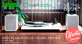 Rega Planar 1 Plus + Ruark MR1 MK2