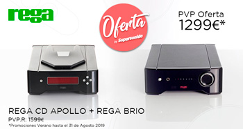 Rega CD Apollo + Rega Brio