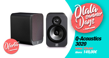 Q-Acoustics 3020: oferta Ohlala Summer Days