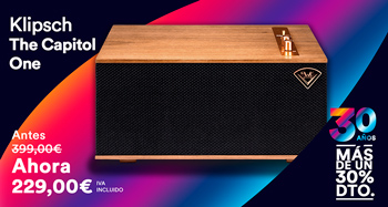 KLIPSCH THE CAPITOL ONE: oferta 30 aniversario