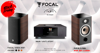 FOCAL y NAIM: ¡Oferta Black Friday!