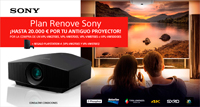 PLAN RENOVE VIDEOPROYECTORES SONY: Regalo Playstation 4