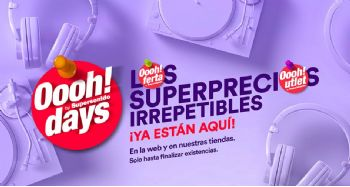 Oooh!Days DE SUPERSONIDO: Superprecios irrepetibles