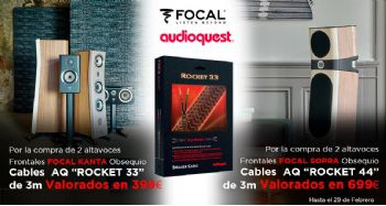 FOCAL KANTA SOPRA + AudioQuest: obsequio cables