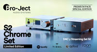PRO-JECT S2 CHROME SET LIMITED EDITION: premium pack