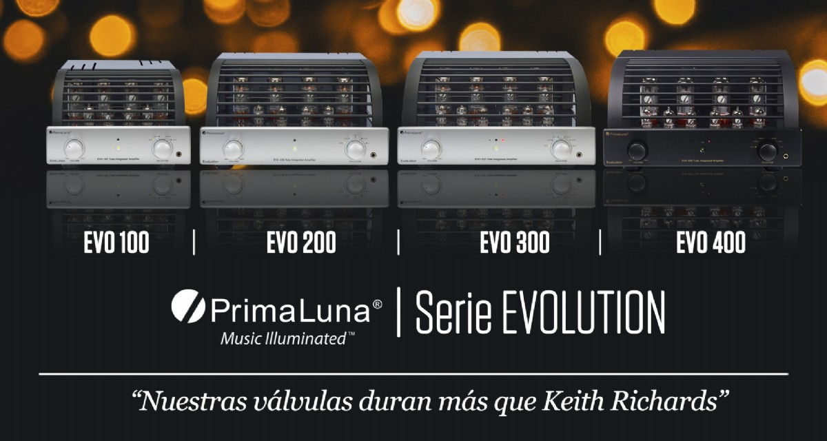 PRIMALUNA SERIE EVOLUTION: Amplificadores integrados