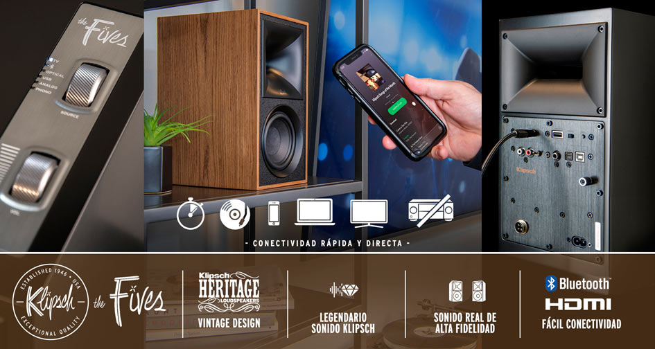 KLIPSCH THE FIVES: Legendario sonido