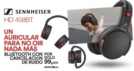 SENNHEISER HD-458BT