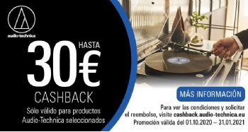 AUDIO-TECHNICA AT-LPW50PB: Cashback 30€