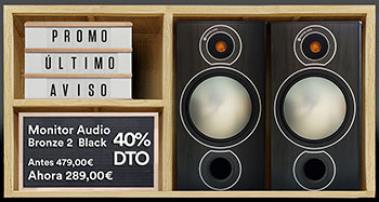 Último aviso Monitor Audio Bronze 2 Black