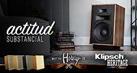 Klipsch Heresy IV, actitud substancial