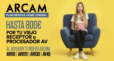 Arcam: Plan renove Home Cinema