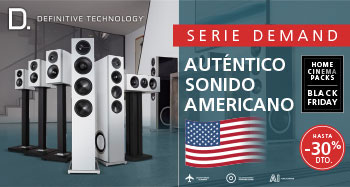 Definitive Technology Serie Demand, auténtico sonido americano