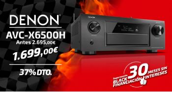 Black Friday Denon AVX6500H