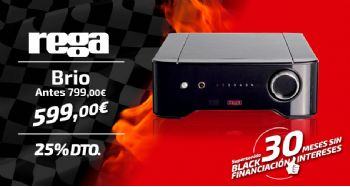 Black Friday Rega Brio