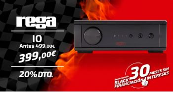 Black Friday Rega IO