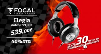 Black Friday Focal Elegia