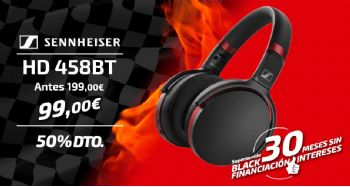 Black Friday Sennheiser HD 458BT