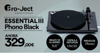 Pro-Ject Essential III Phono Black