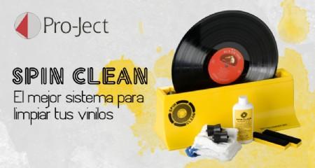Project Spin Clean: sistema de limpieza de vinilos