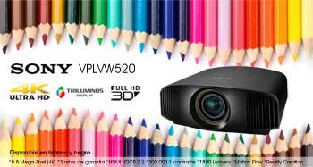 Videoproyector Sony VPL-VW500