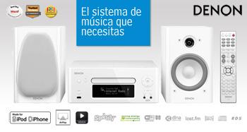 El sistema de música que necesitas
